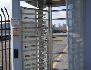 Portique de Contrôle d'accès à unicité de passage